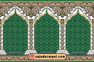 سجاده نماز, فرش سجاده ای کاشان, فرش سجاده کاشان, فرش مسجد, فرش مسجد کاشان, فرش نمازخانه فرش سجاده محراب نقش کاشان