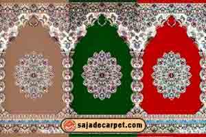 فرش برای مسجد - طرح گلستان