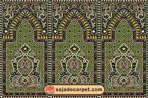 سجاده فرش, فرش حسینیه, فرش سجاده, فرش محرابی, فرش نماز فرش سجاده محراب نقش کاشان