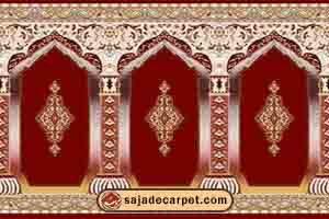 فرش نمازخانه ای طرح رضوان کد2