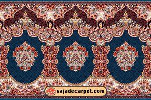 Prayer carpet for masjid - mosque carpet - Fereshteh Design