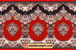 Prayer carpet for masjid - mosque carpet - Fereshteh Design - Red Carpet