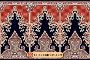 Iranian Prayer Rug For Masjid فرش سجاده محراب نقش کاشان