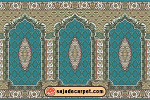 Islamic Carpet For Mosque فرش سجاده محراب نقش کاشان