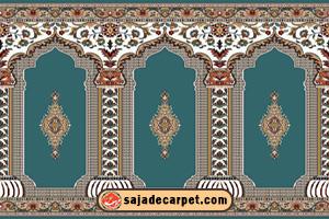 prayer carpet for mosque فرش سجاده محراب نقش کاشان