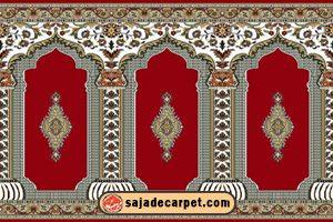 prayer carpets for mosque; prayer mat roll; prayer rug ; masjid rugs; mosque rugs; Yaseen Design