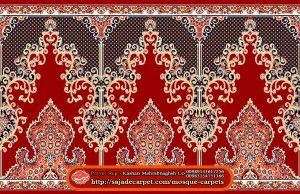 Iranian Prayer Rug For Masjid - Mosque Carpets - Negar Design - red carpet