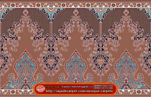 Iranian Prayer Rug For Masjid - Mosque Carpets - Negar Design - walnut carpet