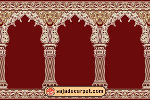 prayer carpets for sale – mosque carpet – Hekmat Design - red carpet