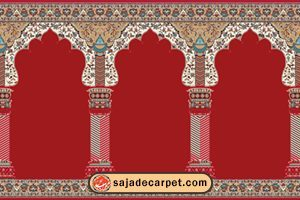 prayer carpets for sale – mosque red carpet
