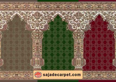 persian prayer rug for mosque - Matin Design