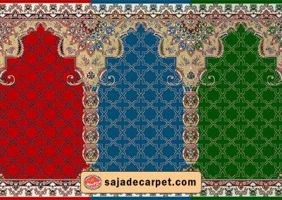 Prayer mat roll for mosque - Harir Design