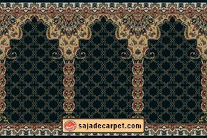 Prayer mat roll for mosque فرش سجاده محراب نقش کاشان