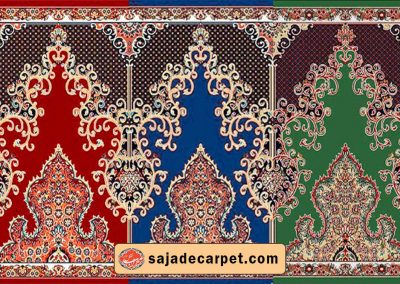 Iranian Prayer rug for mosque - Negar Design