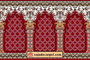 prayer carpet roll فرش سجاده محراب نقش کاشان