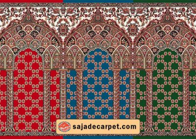 prayer carpet pattern - Golshan design