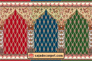 Mosque carpet for sale - prayer rug - Saghar Design