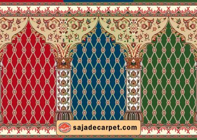 Mosque carpet for sale - prayer rugs - Saghar Design