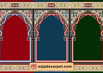 carpet of prayer - karaneh design