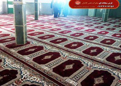 فرش سجاده ای 700 شانه طرح یاسین