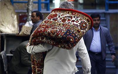 تعویض فرش های مسجد (فرش سجاده ای دست دوم)