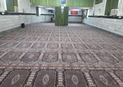 فرش سجاده ای طرح شاه ماهی