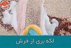 چگونه انواع لکه های فرش را پاک کنیم؟
