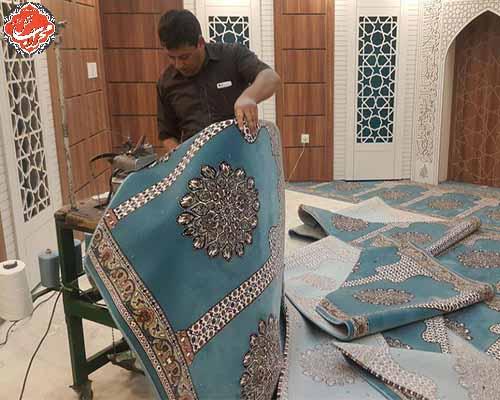 carpet, rug فرش سجاده محراب نقش کاشان
