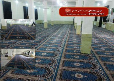 فرش مسجدی-طرح ابریشم