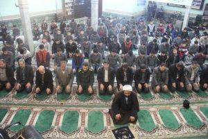 نظم صفوف نماز - سجاده فرش مسجد