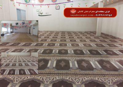 فرش سجاده ای گردویی، طرح یاسین