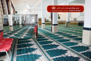 سجاده فرش-شیراز-مسجد صاحب الزمان عج-نیایش-سبز