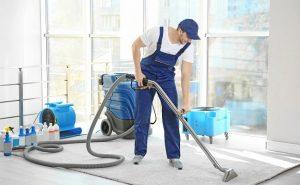 washing carpet