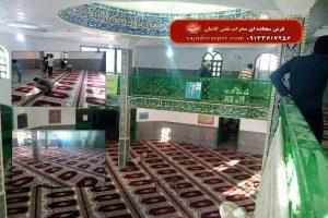 سجاده فرش-زابل-مسجد قدس-یاسین-لاکی