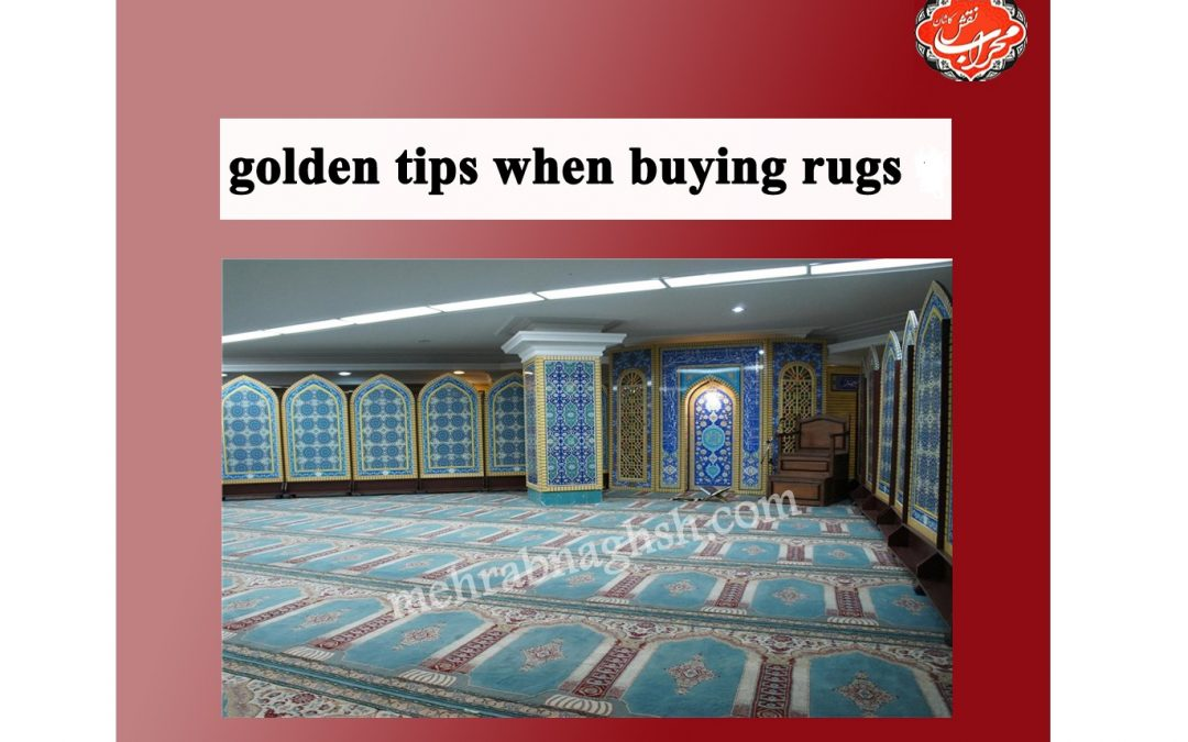 6Golden Tips When you want to buy a  persian prayer carpet