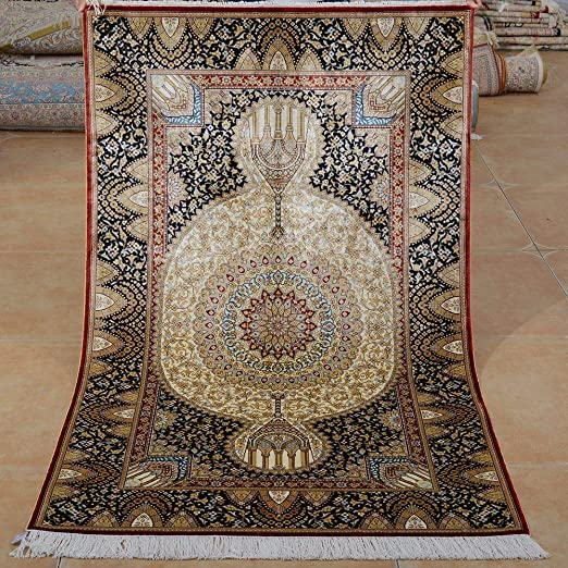 persian carpet, persian prayer carpet, persian rug فرش سجاده محراب نقش کاشان