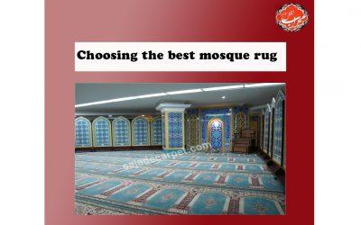 Choosing the best mosque rug
