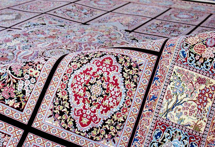 فرش دستبافت گونه, فرش دستبافت گونه 700 شانه فرش سجاده محراب نقش کاشان