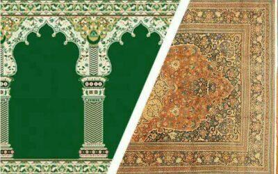 حکم شرعی تعویض فرش های کهنه مسجد  با فرش نو