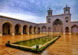 طراحی بیرونی مسجد