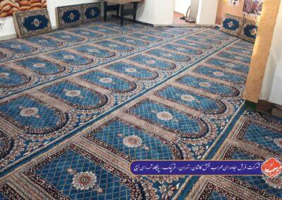 پایگاه شهدای بسیج تهران طرح سجاده ای
