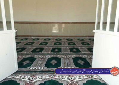 نمازخانه شرکت بهاور شیمی تهران طرح یاسین