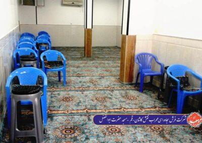 فرش سجاده ای قم مسجد حضرت ابوالفضل